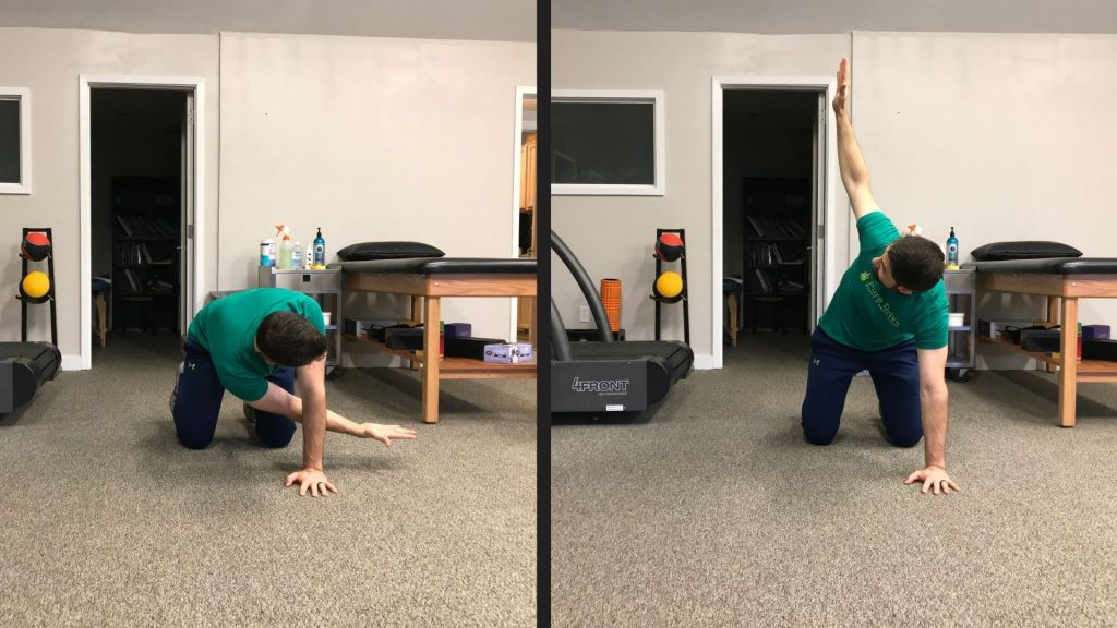 Active Mid-Back Mobility Drill For Low Back Pain In Golfers